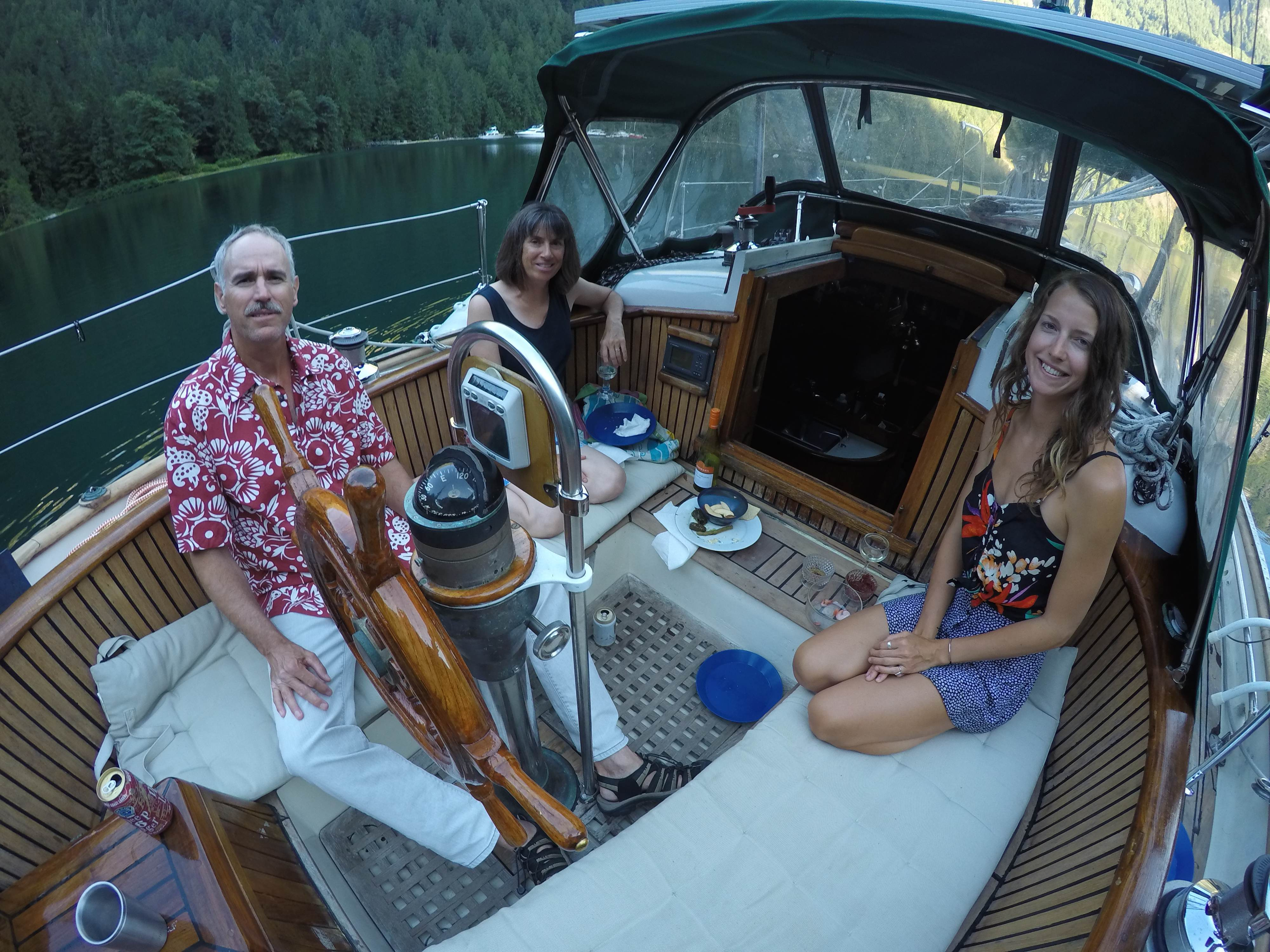 Denis and Holly have been cruising for 10 years aboard their 43ft catamaran