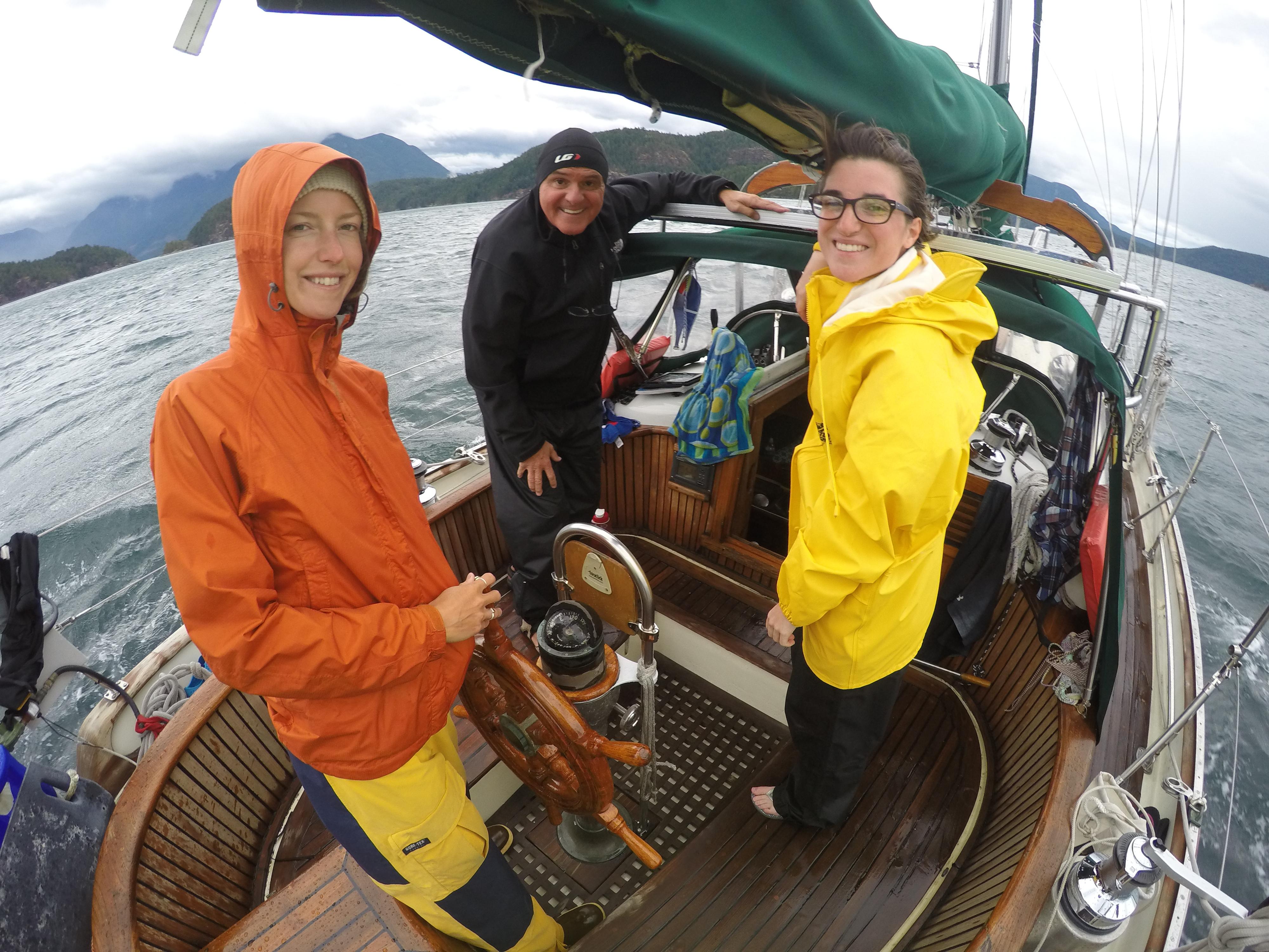 Sailing in Desolation Sound