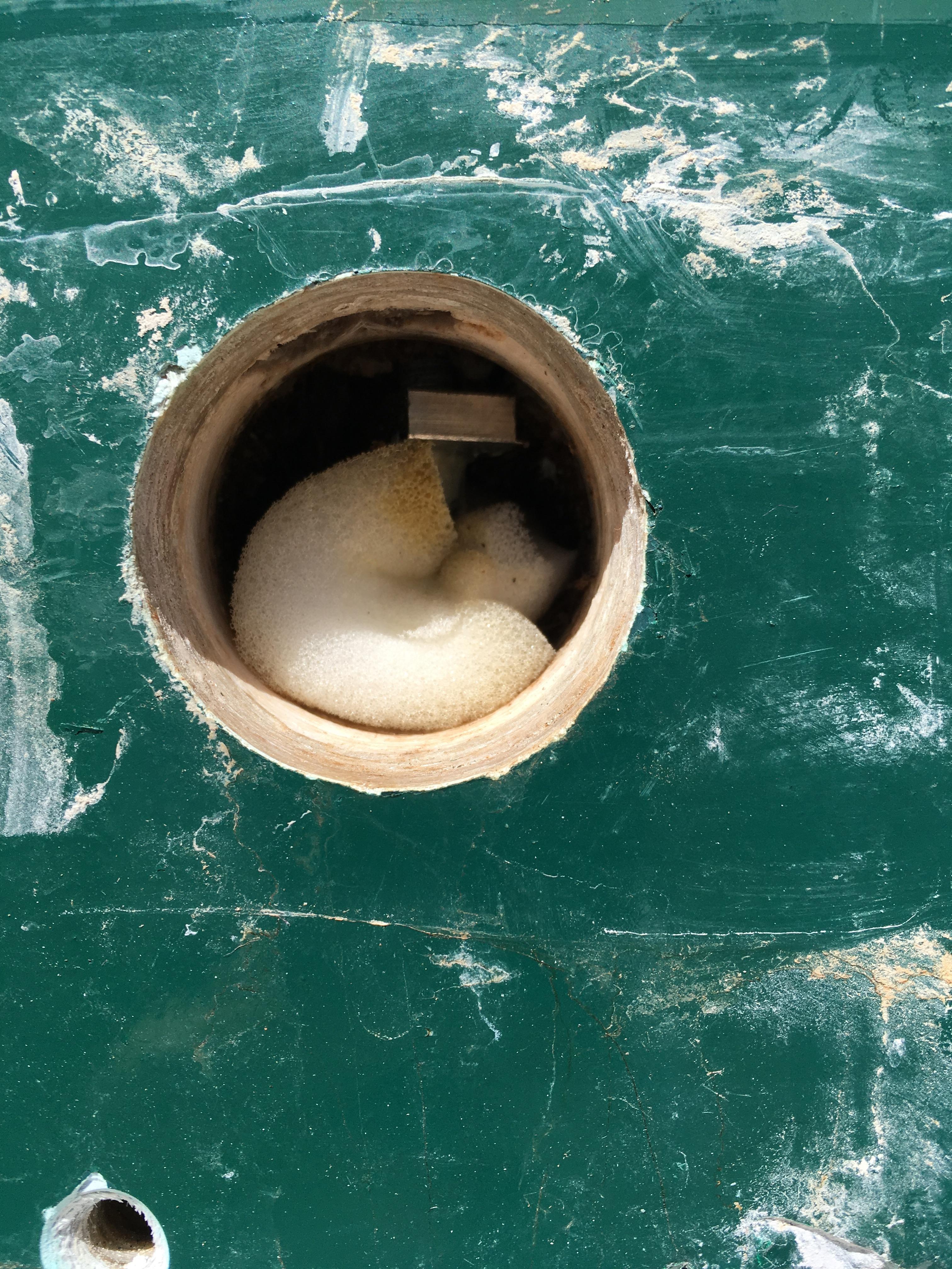 union 36, jib track, leaking bulwarks