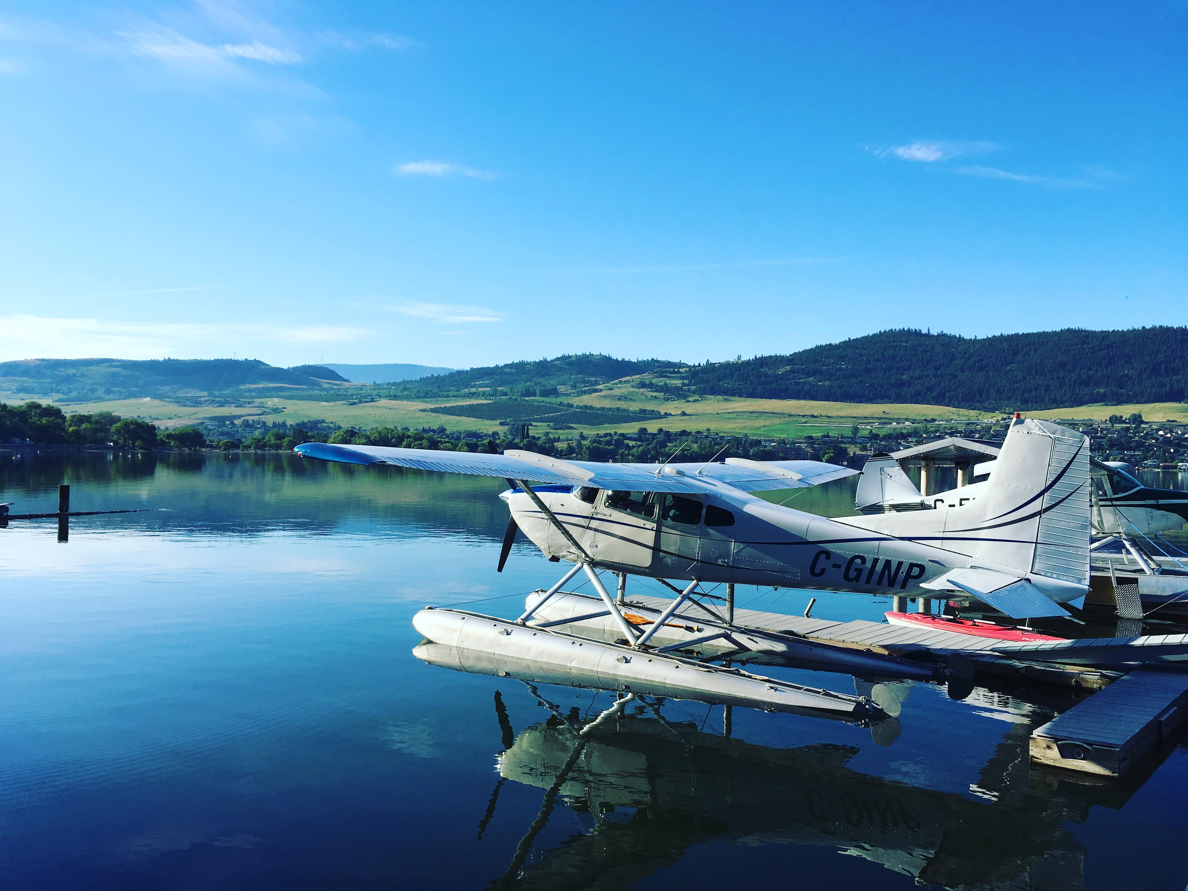 floatplane, vernon, cessna 185