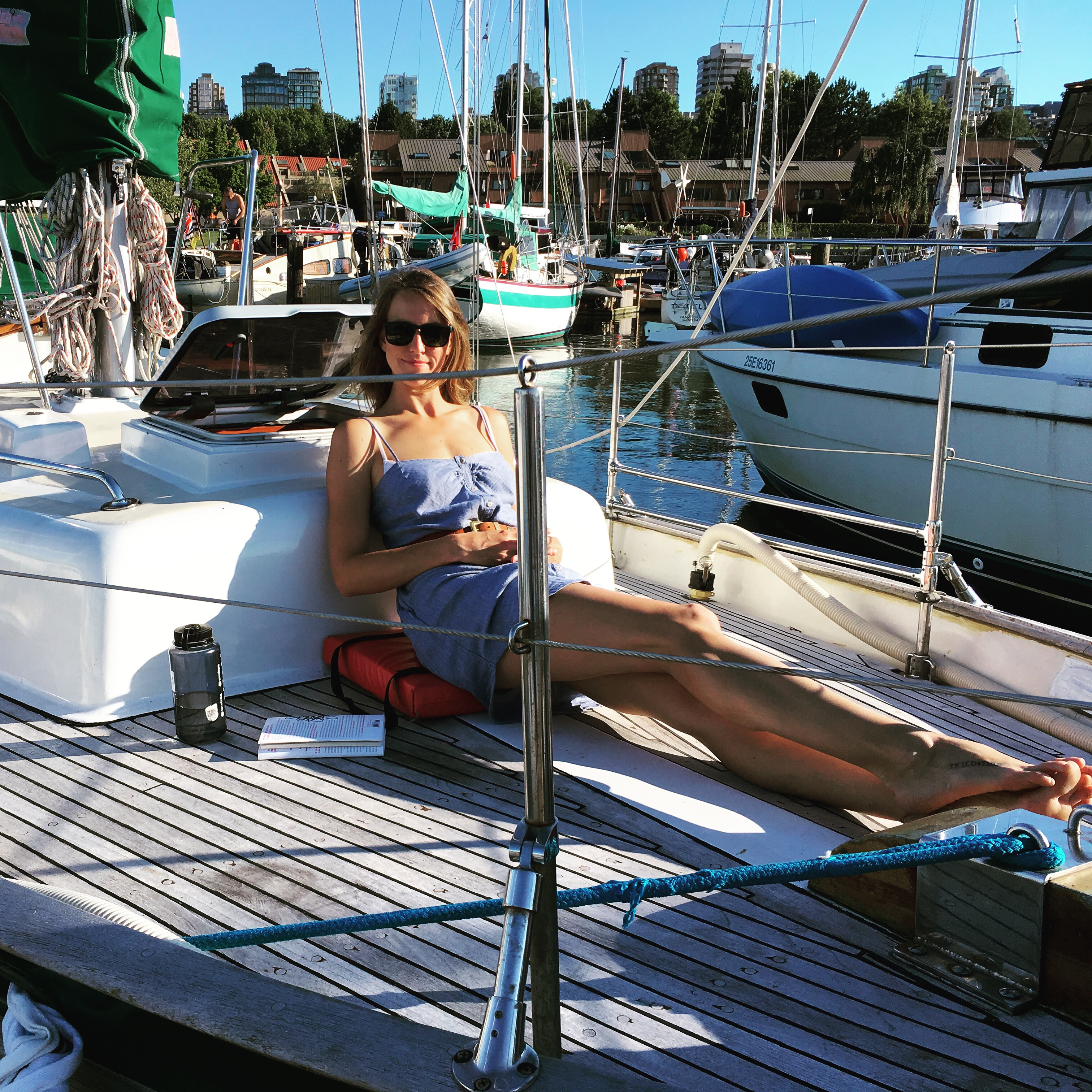 Saxony on foredeck Union 36