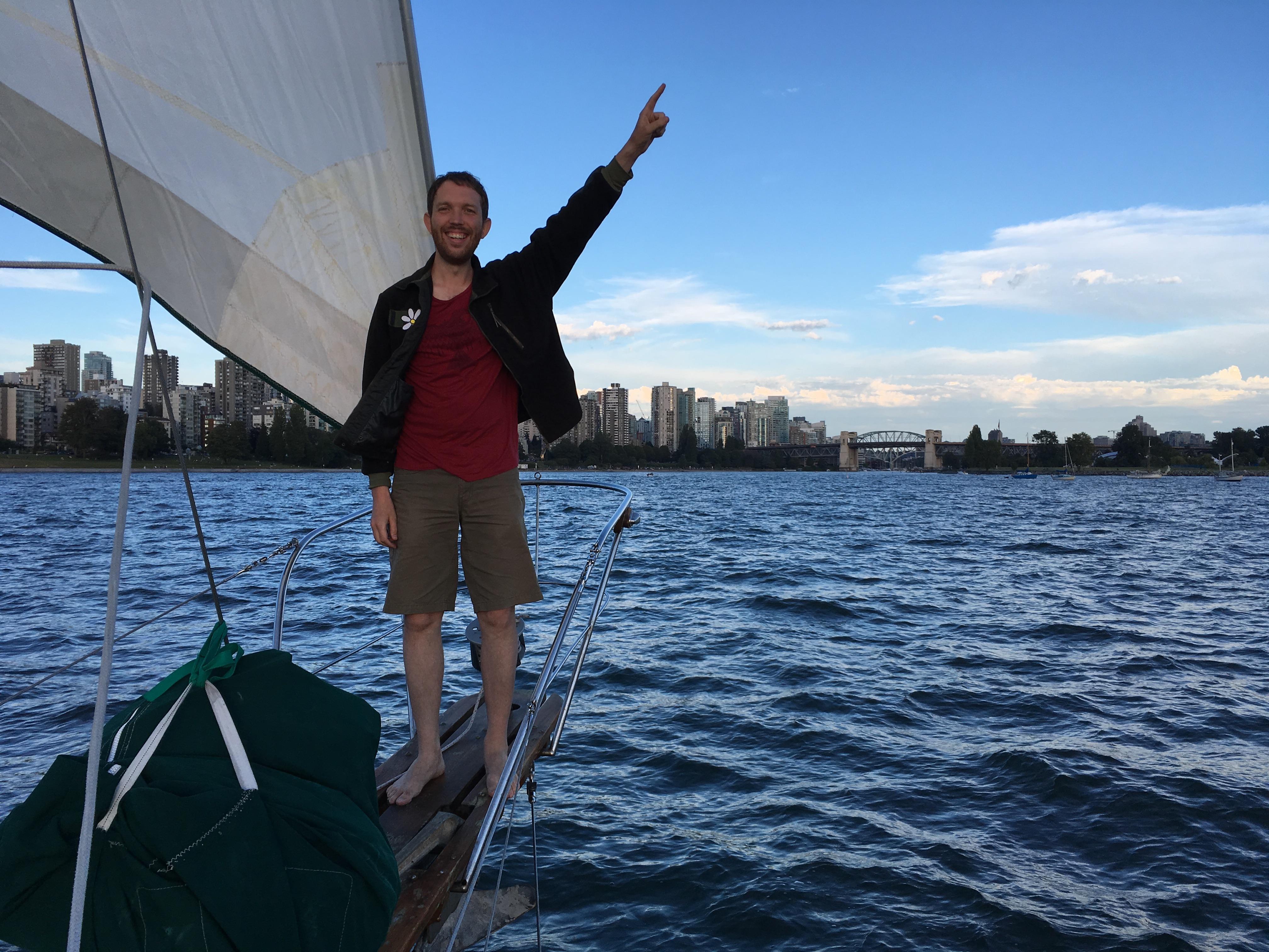 bowsprit union 36 sailboat