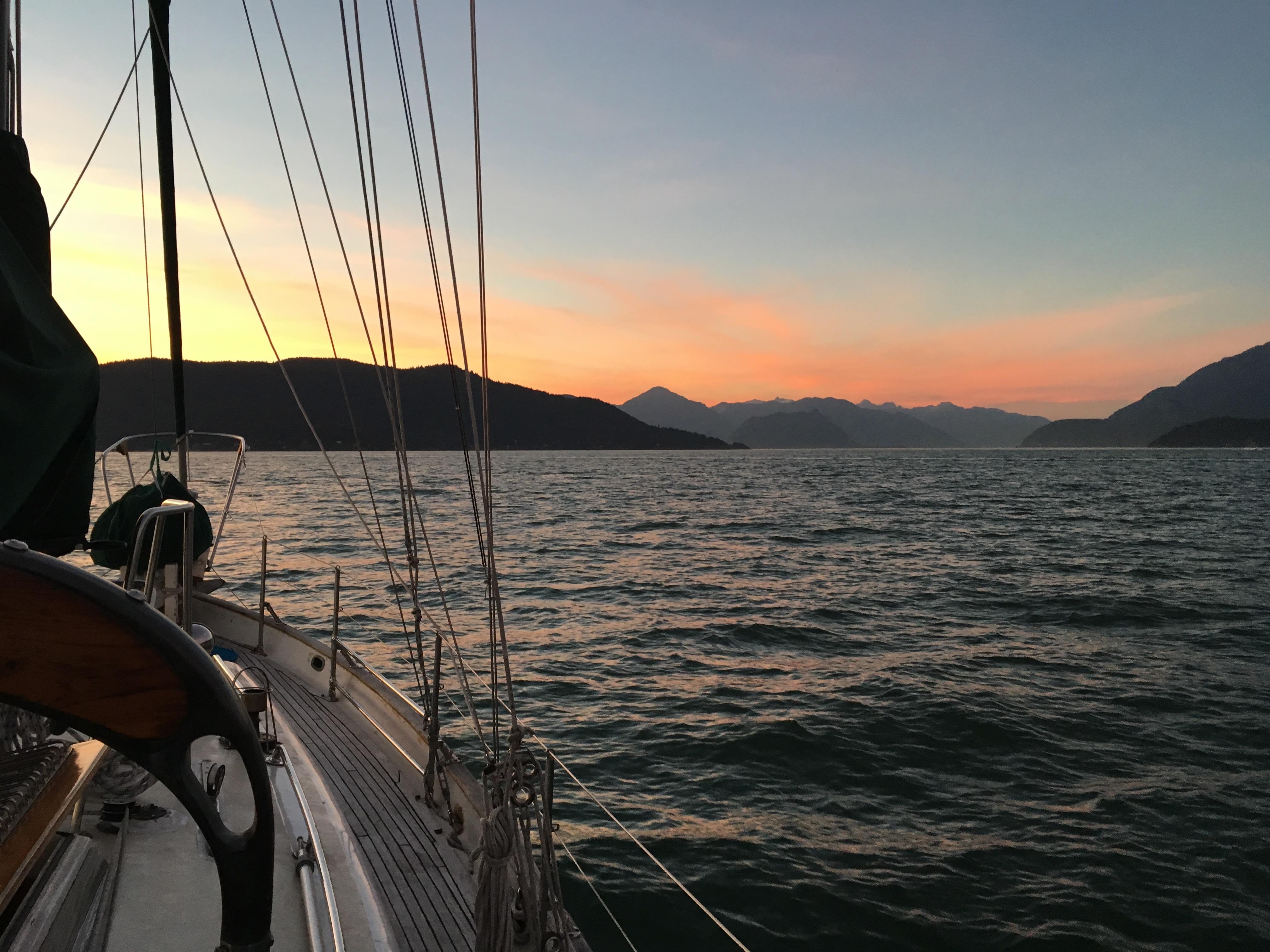 Sailing union 36 bowen island