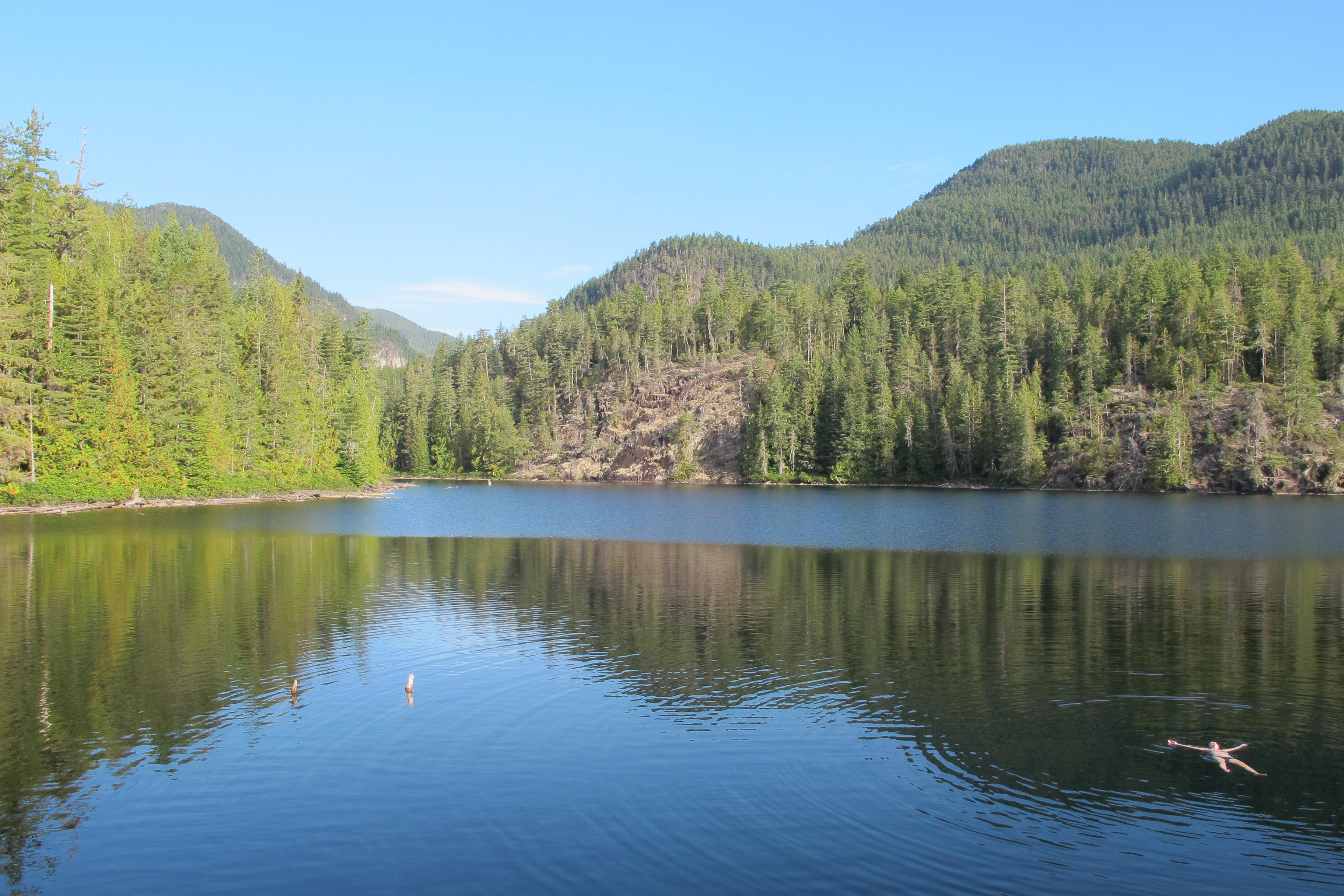 Cassel Lake in Desolation Sound