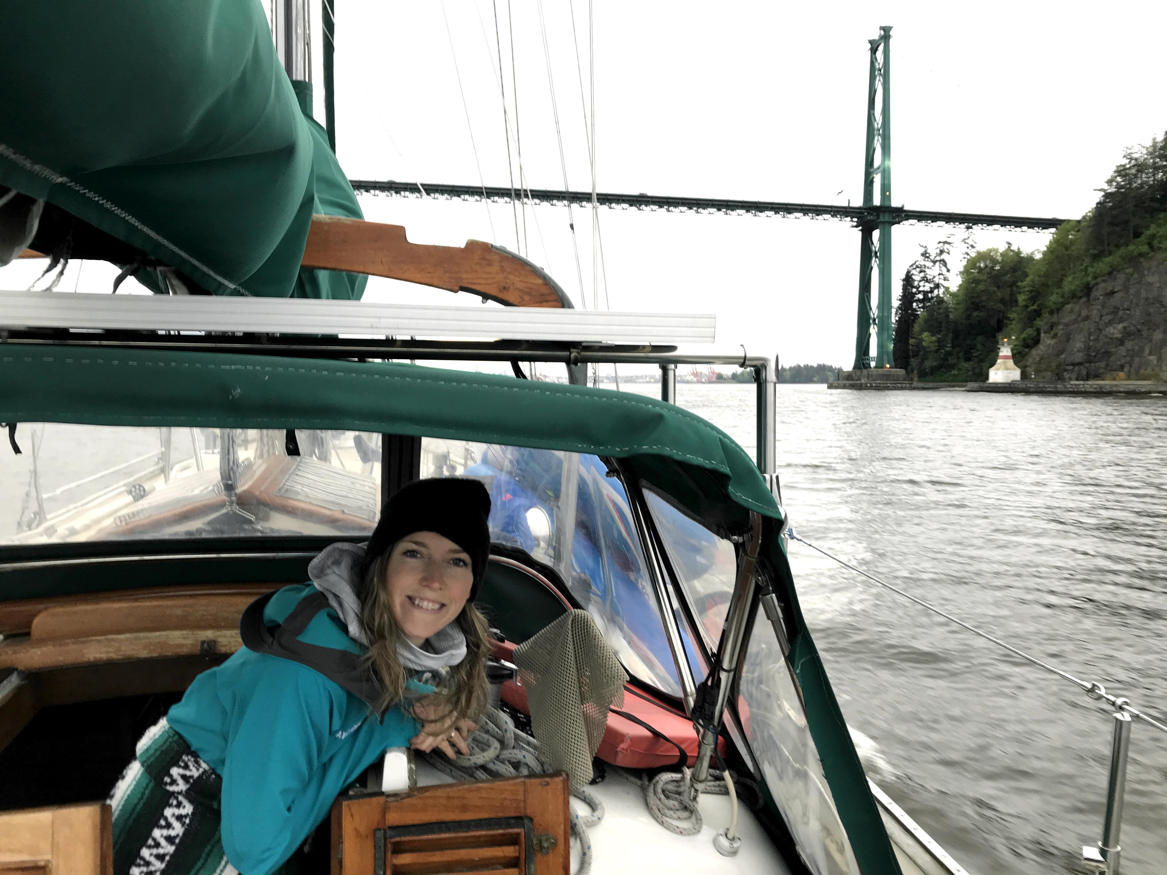 Sailing Leela